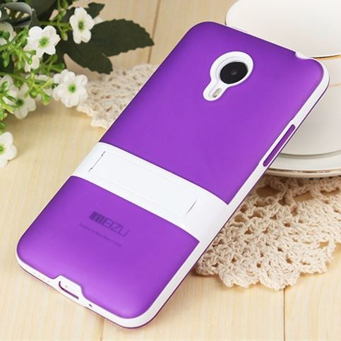 Ultra thin light transparent stand holder cover case For Meizu MX4 MX 4 MX5 5 PRO