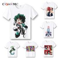 Coshome Boku No Hero Academia T Shirts Cosplay Costumes My Hero Academia T Shirts Izuku Midoriya
