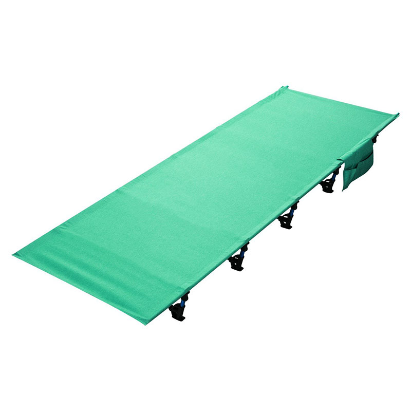 Wholesale! Portable Camping Cot Folding bed Sturdy Ultralight Portable folding tent bed Camp hot sale portable camping mat super ultralight sturdy comfortable folding tent bed set 1 5kg bear weight 200kg top quality ea14
