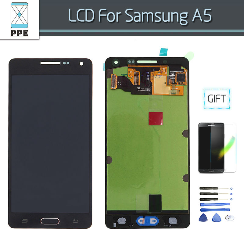 Original A510 LCD Screen Display Touch Digitizer Assembly For Samsung Galaxy A5 A510Y SM-A510F A510FD A510 2106 LCD Tools Film