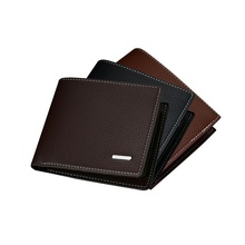Top 2019 Vintage Men Leather Brand Luxury Wallet Short Slim Male Purses Money Clip Credit Card Dollar Price Men Wallets Fashion