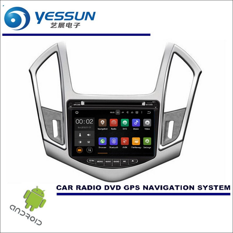 YESSUN Wince / Android Car Multimedia Navigation System For Chevrolet Cruze 2013~2014 / CD DVD GPS Player Navi Radio Stereo HD yessun for mazda cx 5 2017 2018 android car navigation gps hd touch screen audio video radio stereo multimedia player no cd dvd