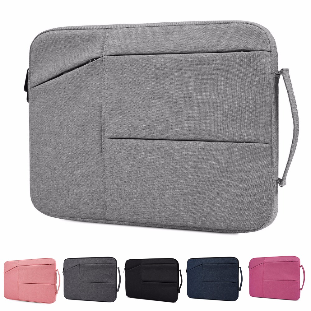 Nylon laptop tas Notebook tas 13.3 15.6 Case voor 2018 Nieuwe Macbook Pro 13 15 Laptop sleeve 11 12 13 14 15 inch Dames Heren handtas