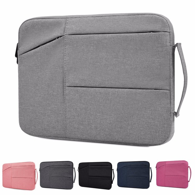 Nylon Laptop Bag Notebook Bag 13.3 15.6 Case For 2018 New Macbook Pro 13 15 Laptop Sleeve 11 12 13 14 15 inch Women Men Handbag
