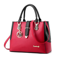 купить High Quality Women Leather Handbag Shoulder Messenger Satchel Crossbody Top Handle Bags Ladies Tote Bag Purse дешево