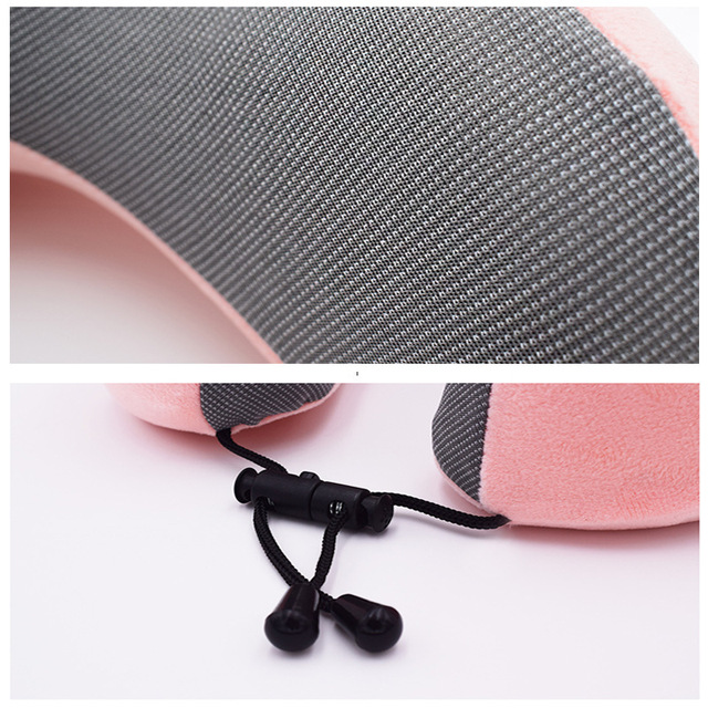 1PC U Shaped Memory Foam Neck Pillows Soft Slow Rebound Space Travel Pillow Solid Neck Cervical Healthcare Bedding Drop Shipping 6
