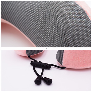 Image 5 - 1PC U Shaped Memory Foam Neck Pillows Soft Slow Rebound Space Travel Pillow Solid Neck Cervical Healthcare Bedding Drop Shipping
