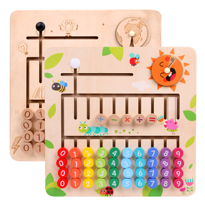Image 5 - JaheerToy Wooden Math Toys for Children Montessori Materials Learning To Count Numbers Early Mathematics Education for Babies