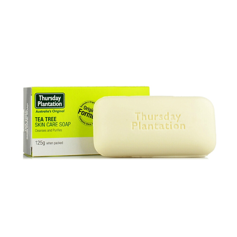 Thursday Plantation Tea Tree Soap 125g deal for removing the build up of oil and dirt for all skin types Pure Tea Tree Oil Soap цены онлайн