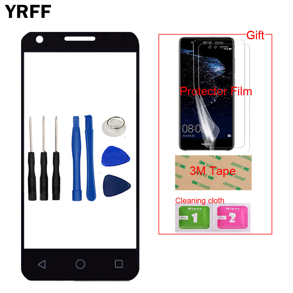 Mobile Front For Alcatel One Touch Pixi 3 4.5 4027D 4027X 4027 A5017 Touch Screen Glass Digitizer Panel Sensor Protector Film