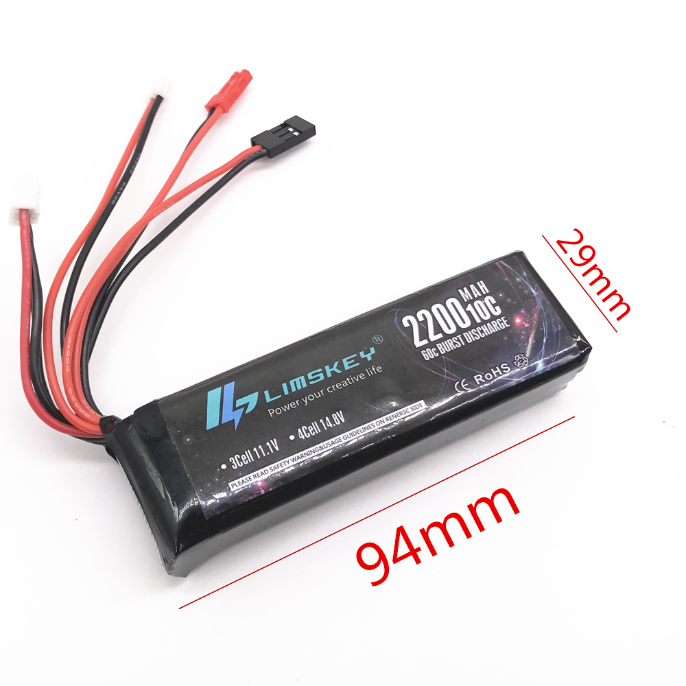 Good Quality 2200mAh 11.1V <font><b>Battery</b></font> for <font><b>Hubsan</b></font> X4 PRO <font><b>H906A</b></font> transmitter / H109S / <font><b>H501S</b></font> pro / H301S <font><b>H906A</b></font> remote controller image