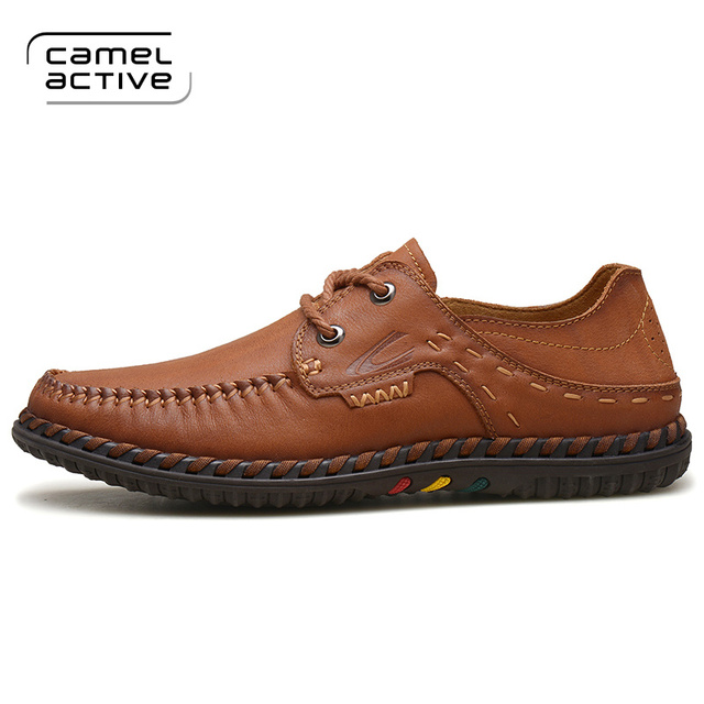Camel Active New Arrival Bullock Shoes Fashion Genuine Leather Dress Shoes  For Men Business Style Top