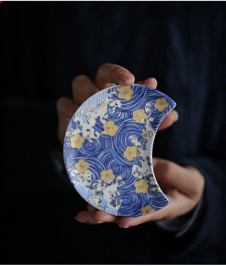 fu chinês conjunto de chá de alta qualidade copo e pires