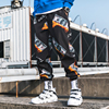 New Fashion Printed Men Harem Pants Hip Hop Casual Streetwear Joggers Men 2019 Summer Fashion Elastic Waist Trousers LBZ45 9