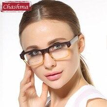 Korean Glasses Frames TR 90 Large Box Black Stripe Prescription Eye for Women and Men