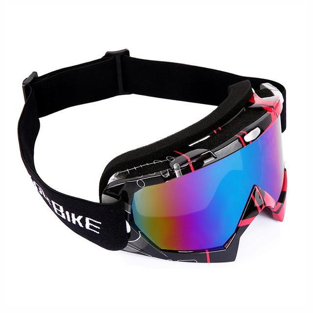 WOLFBIKE winter Windproof Ski Glasses Goggles UV 400 Protection anti-fog Snow Glasses TPU Men Motocycle Snowboard Skiing Eyewear