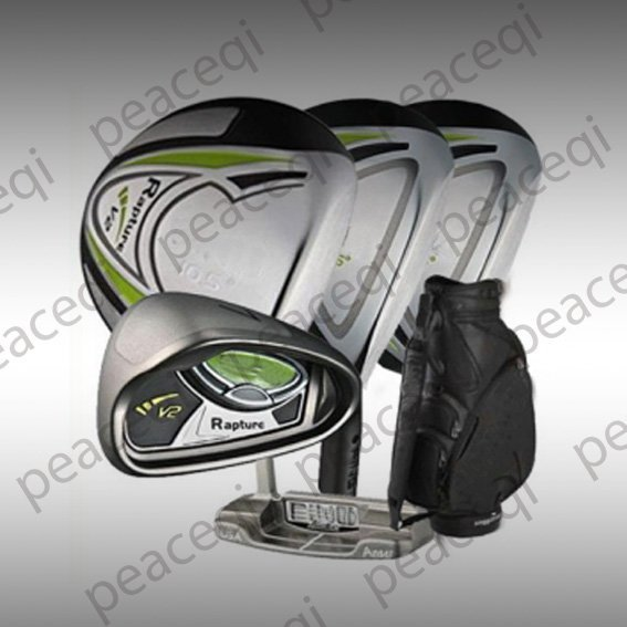 New Rapture V2 complete sets with full clubs(3w+9i+1p) & bag+free golf hat