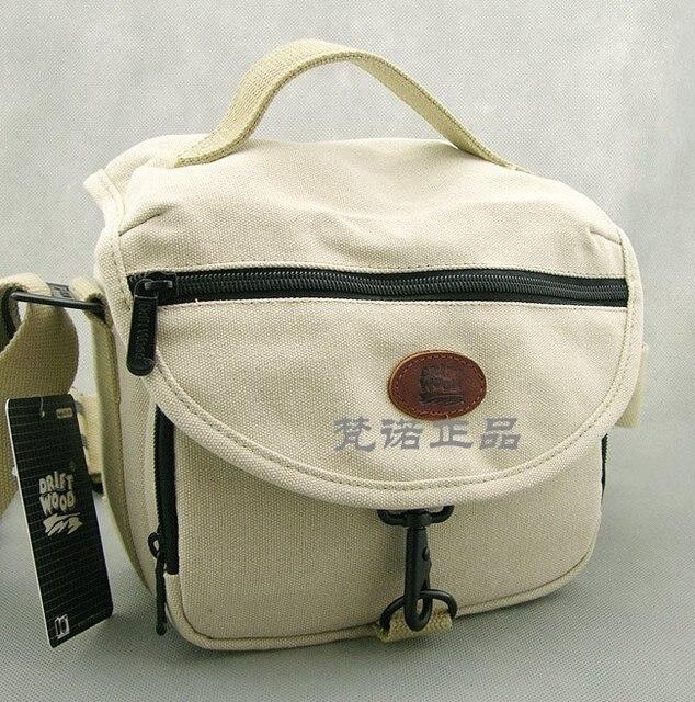 High-quality Men's shoulder bag waterproof canvas Camera bag thick canvas Messenger bag 760-2 beige