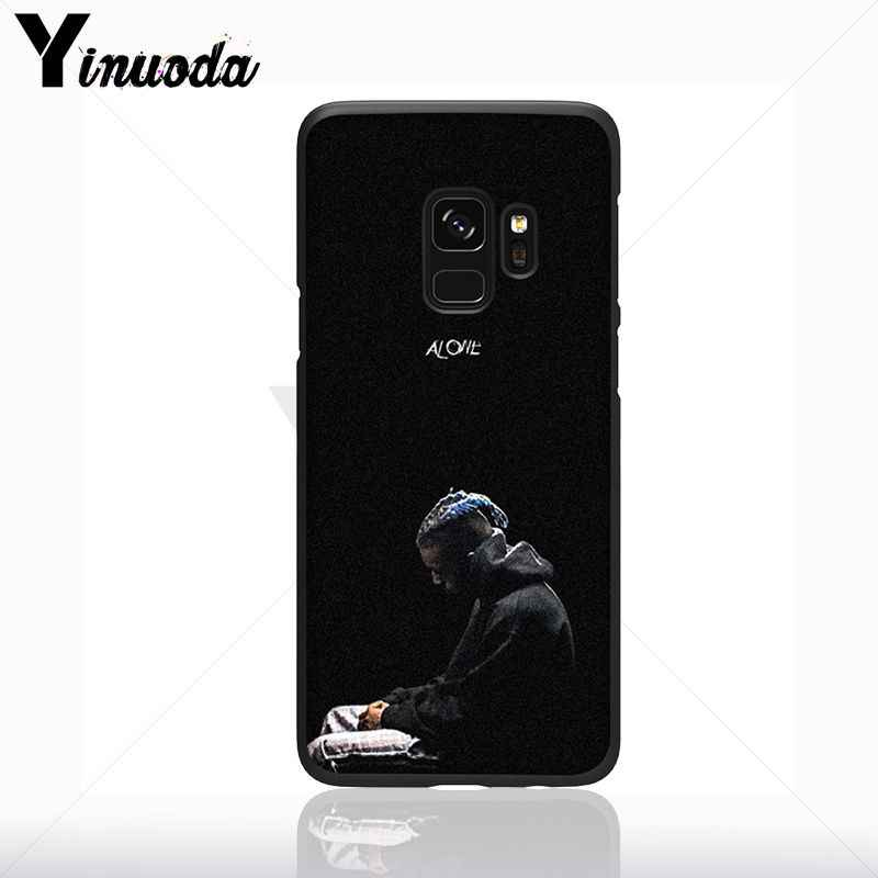 Yinuoda Xxxtentacion Chế Độ Mẫu Điện Thoại Mềm Phụ Kiện Điện Thoại Di Động Trường Hợp Đối Với Samsung Galaxy s10 s8 s9 cộng với s10E note9 s7 bìa