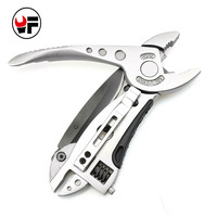 Mini Multi Tool Portable Pliers Pocket Knife Screwdriver Set Kit Adjustable Wrench Jaw Spanner Repair Survival