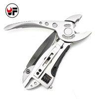 Mini Multi Tool Portable Pliers Pocket Knife Screwdriver Set Kit Adjustable Wrench Jaw Spanner Repair Survival