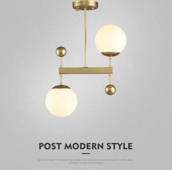 Lusso Moderno Lampadario Creativo di Ferro Da Pranzo Illuminazione Della Lampada Salotto Americano Syle Minimalismo Lampada Coperta Moderna LED B