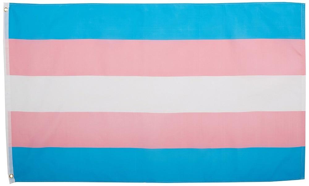 Transgender (LGBTQ) Pride Flag