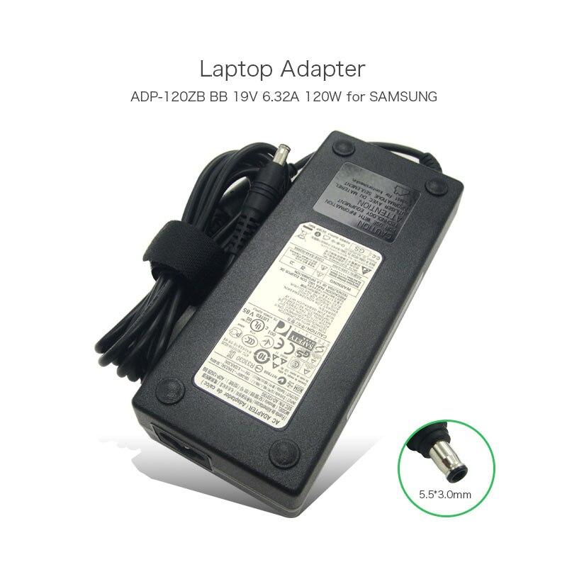 US $39.8 |19 V 6.32A 120 W przenośna ładowarka do Samsunga 21.5 cal serii 3 5 All in One AD 12019G ADP 120ZB BB Delta zasilacz laptopa|adp 120zb