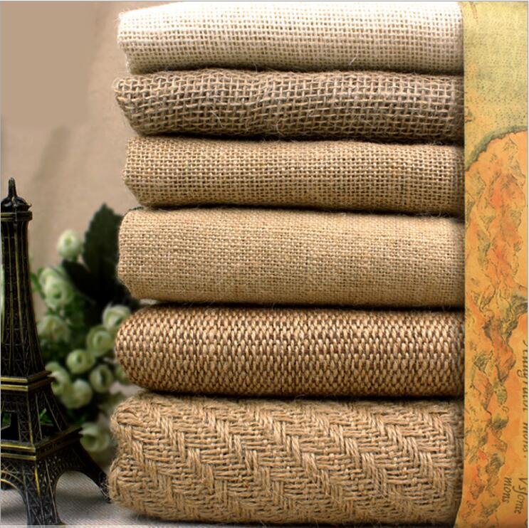 100x150cm Natural Jute Burlap Fabric For Place Mats Bags