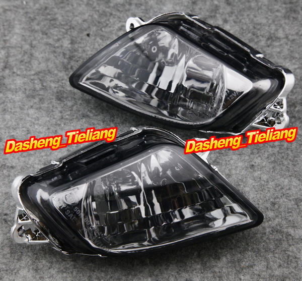 E-Mark Front Turn Signals Indicator Lamp Blinker Lens Cover for HONDA CBR1100XX 1997 1998 1999 2000 2001 2002 2003 2004-2006