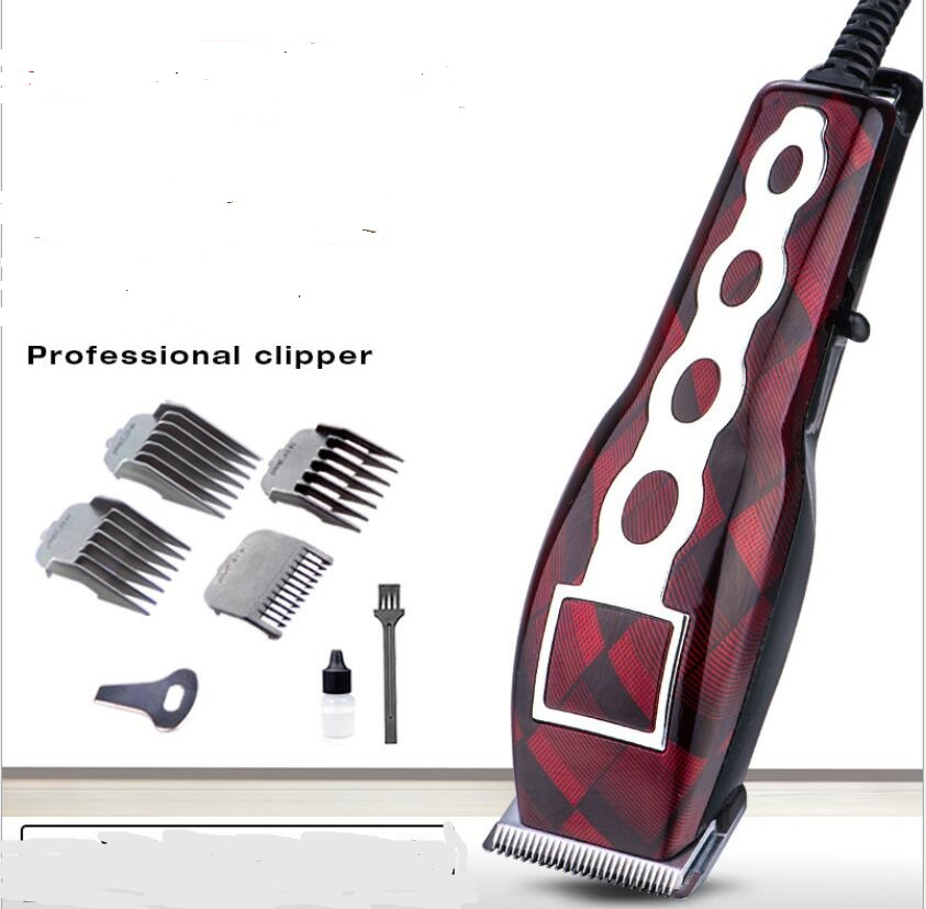 electric 220v professional corded hair clipper barber tool barbershop hair styling trimmer razor cutter device machine cutting 220 240v professional barber hair trimmer rechargeable electric adjustable hair clipper shaver cutter styling kit for men women