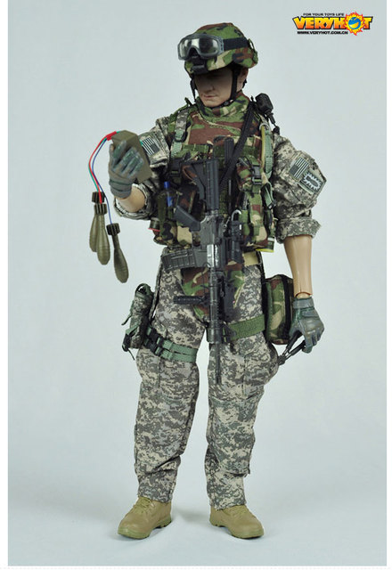 """1/6 scale figure doll clothes for 12"""" Action figure doll accessories,US Army EOD uniforms.not include doll and other"""