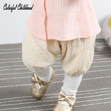 fb6765c6ba97 2018 Baby Girls BOYS Summer Shorts Linen Cotton Kids Outfits Children  Clothing Newborn Comfortable Toddler PP