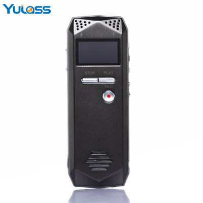 Yulass 4GB Audio Voice Recorder Dictaphone Grey USB Professional Voice Recorder Digital With font b MP3