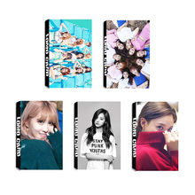 Youpop KPOP TWICE CHEER UP Momo Lim Na Yeon Tzuyu Album LOMO Cards K-POP Fashion Self Made Paper Photo Card HD Photocard LK432(China)