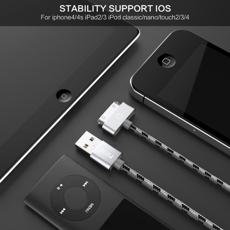 PZOZ USB մալուխի լիցքավորում արագ iphone 4 s 4s - Բջջային հեռախոսի պարագաներ և պահեստամասեր - Լուսանկար 4