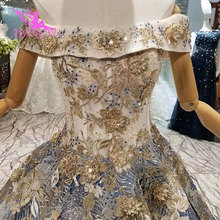 AIJINGYU ชุดแต่งงานใหม่ Vintage Gowns แต่งงานอิสลามยาวหางอินเดียเซ็กซี่เจ้าสาวงานแต่งงานราคาไม่แพงชุดร้านค้า