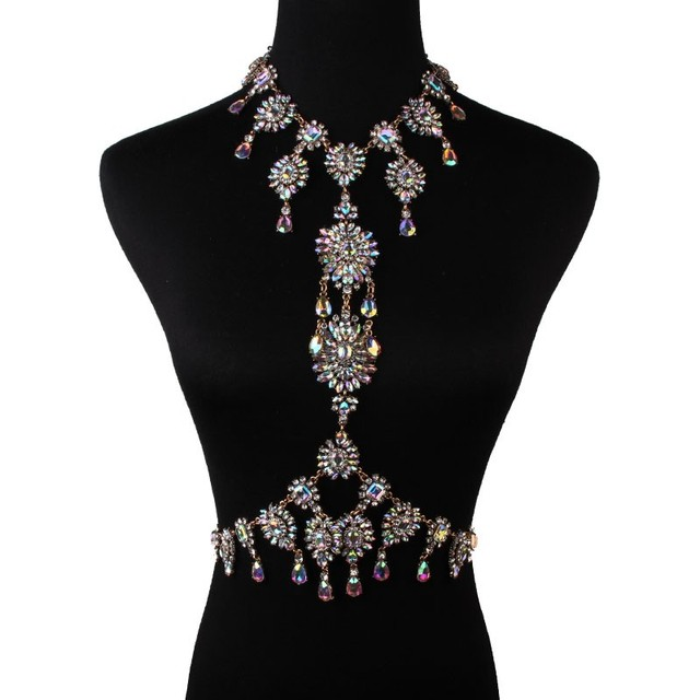 Sexy Summer Choker Crystal Necklace10