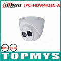 4pcs DaHua IP Camera IPC-HDW4431C-A 4MP POE 1080P Dome IP Camera IR night vision security CCTV ip camera Waterproof IP67 onvif