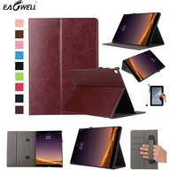 Eagwell High Quality Leather Smart Case For iPad Pro 12.9 2015 2017 Fashion Flip Stand Magnetic Case Cover Protective Skin Funda