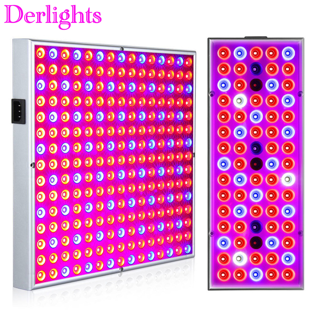 Full Spectrum 25W 45W Panel LED Grow Light AC85~265V Grow Lamp for Indoor Greenhouse Tent / Commercial Plant Flowering Growing