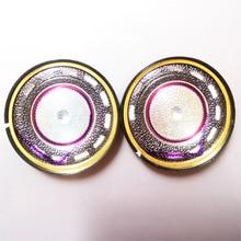 40mm 32 Ohm Bass Headphone Driver Unit 40mm Patternless Diaphragm Loudspeakers Super Bass HiFi Speaker 113dB/W