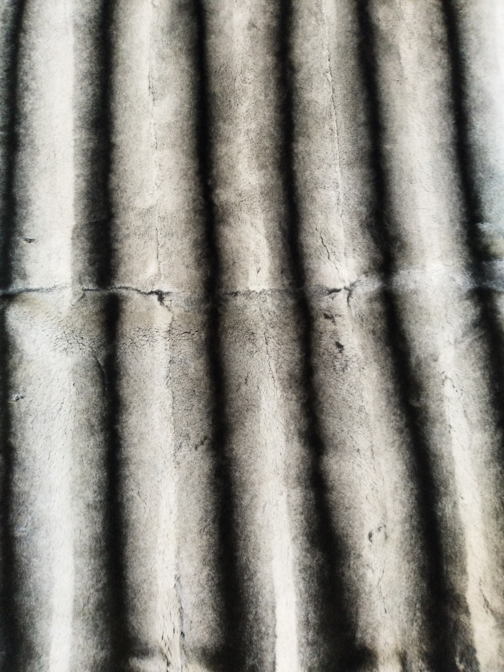 Chinchilla Rex plaque de fourrure de lapin couverture de peau de lapin réel tapis de fourrure jeter bonne qualité doux handfeel vêtement accessoire nouveau