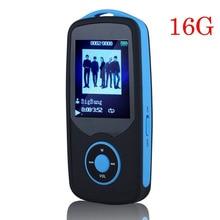 2016 Nueva Original RUIZU X06 16G Bluetooth MP3 Reproductor de Música 1.8 Pulgadas 100Hr Sin Pérdidas de Alta Calidad Grabadora de FM Radio Deportes Walkman