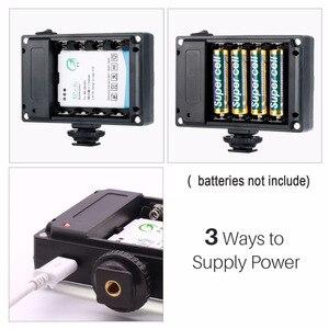 Image 5 - Ulanzi 112 Mini LED lumière vidéo poche Vlog continue remplissage éclairage sur appareil photo pour Canon Nikon DSLR Moza Mini S Zhiyun lisse 4