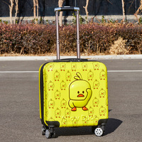 Luggage Cases Spinner Carry Ons cartoon loveliness children's suitcases and travel bags Unisex schoolbag hard case suitcase