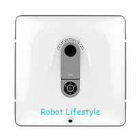 2017 Newest Auto Clean Anti Falling Smart Window Glass Clean Robot Window Cleaner With Remote Control
