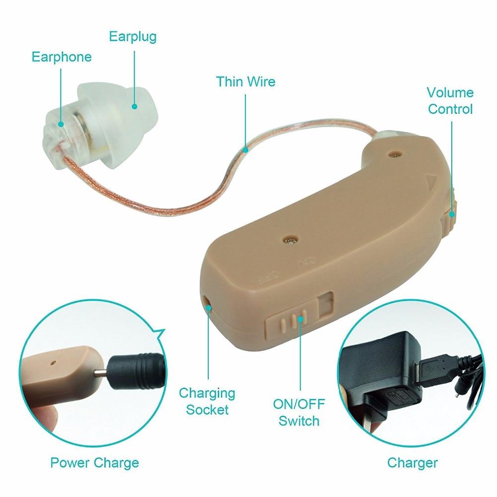 Bantuan Pendengaran Digital Boleh Dicasakan Pendengaran Alat Bantu - Penjagaan kesihatan - Foto 6