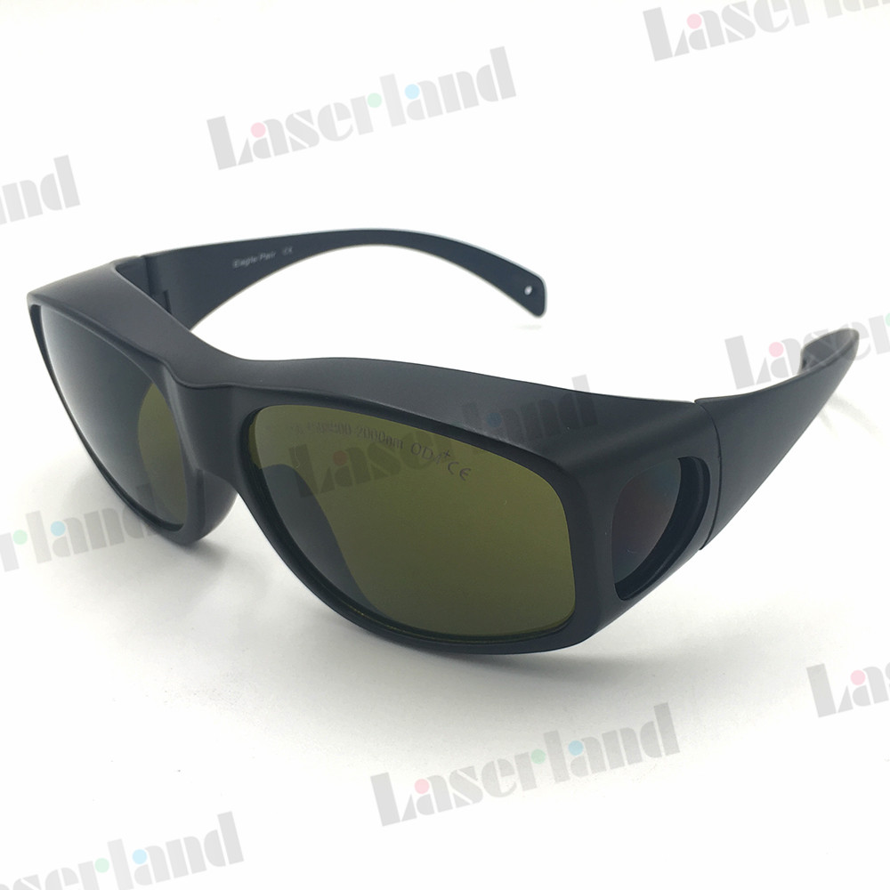 EP-5-9 200nm-450nm & 800-2000nm Multi-Wavelength Laser Protective Safety Glasses Goggles CE Certificate Eagle Pair