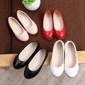 Осень принцесса яркий цвет pu обувь девочек обувь повседневная и простые кожаные ботинки студент обувь дети мягкое тесто обувь 16J21